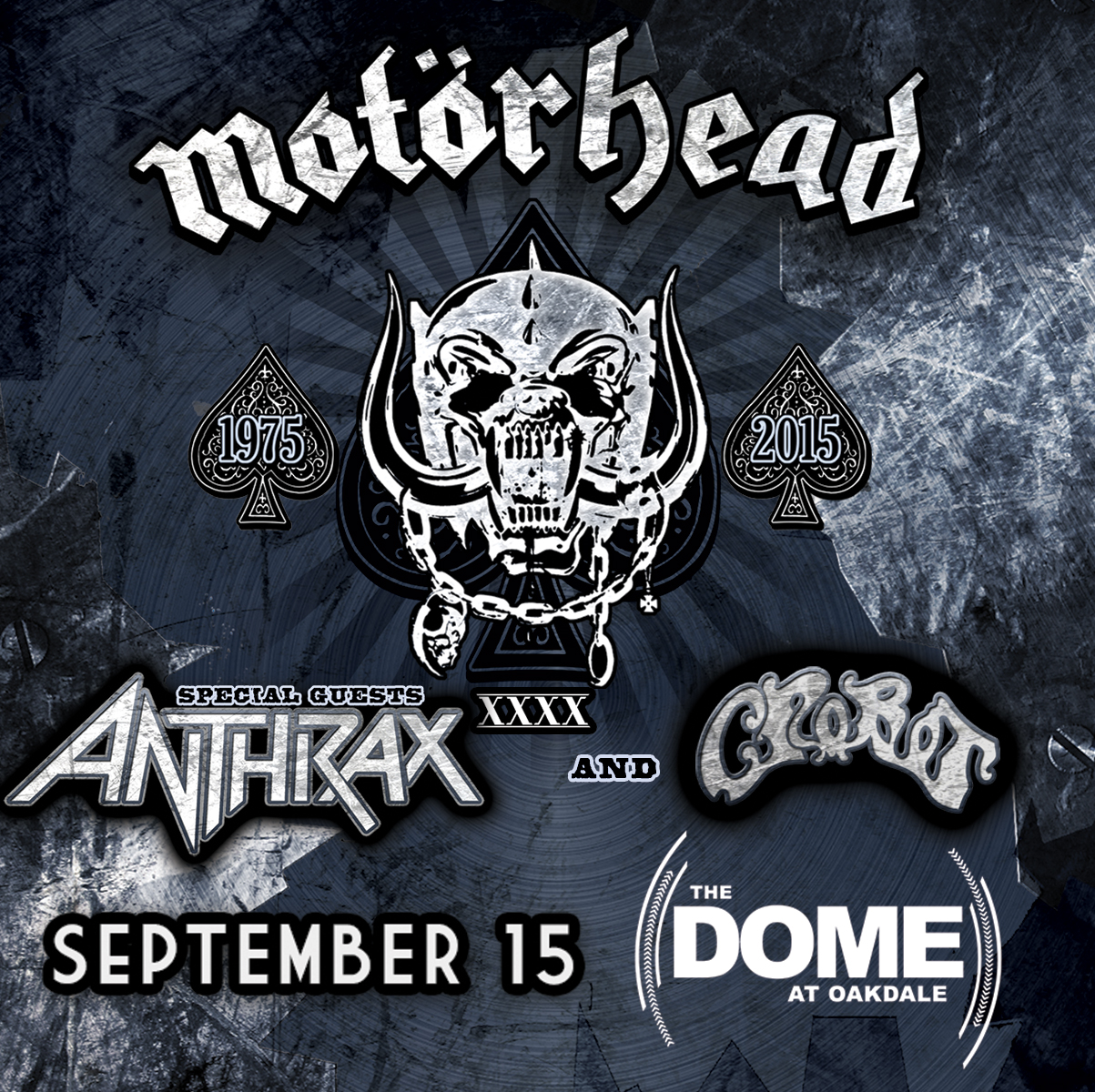 Motorhead At Oakdale Theatre Ticket Giveaway
