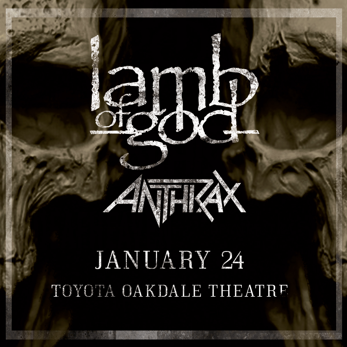 Lamb Of God At Oakdale Theatre Ticket Giveaway