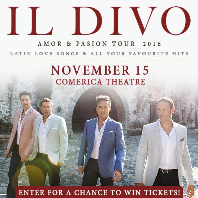 Il divo ticket giveaway - Il divo tour dates ...