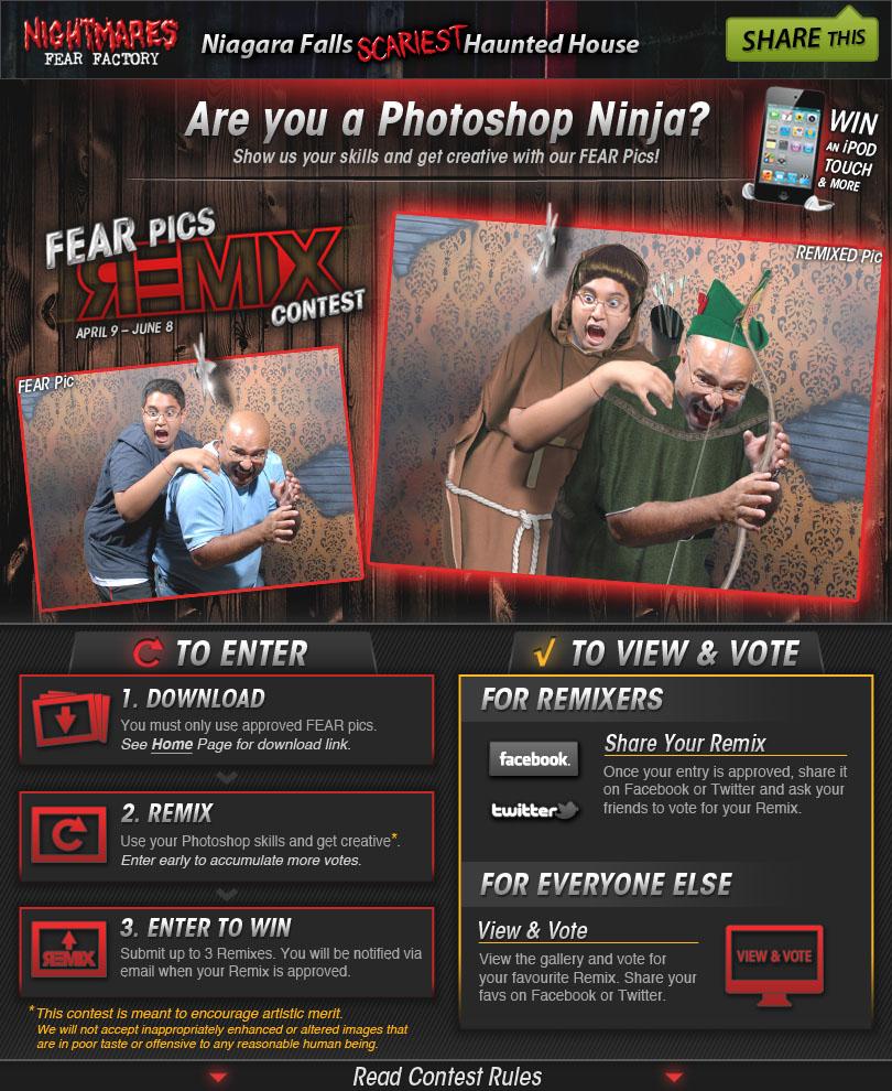 FEAR Pics Remix Contest