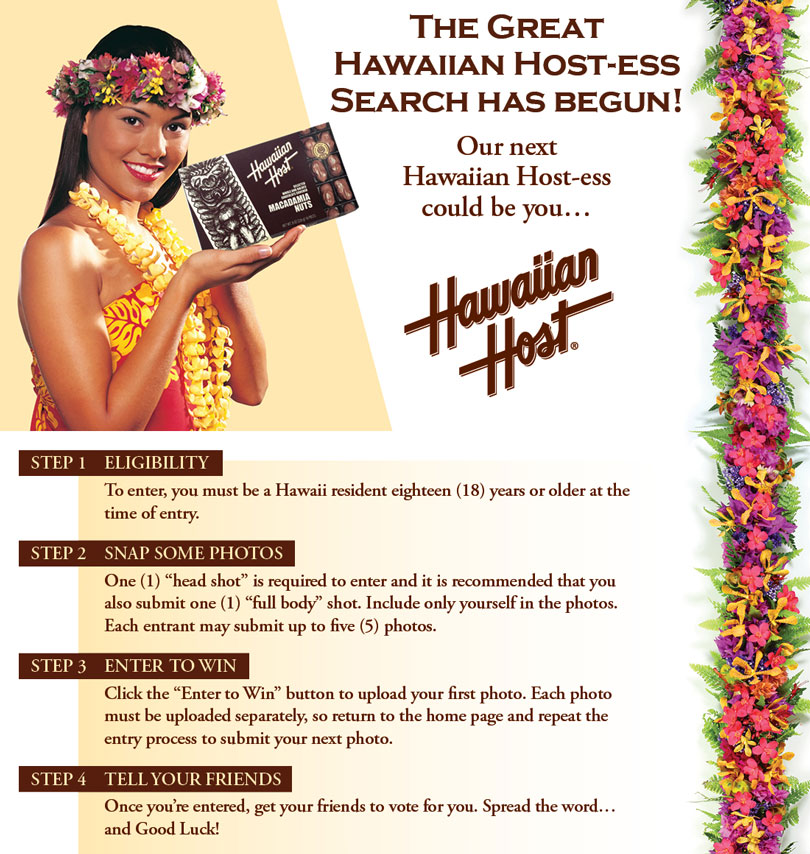 The Great Hawaiian Host-ess Search
