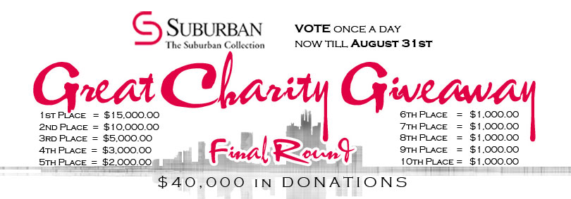 2012 Great Charity Giveaway