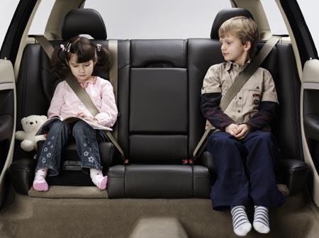 cutest kid in a car seat contest