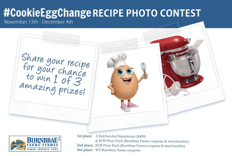 Cookie Eggchange Recipe Contest