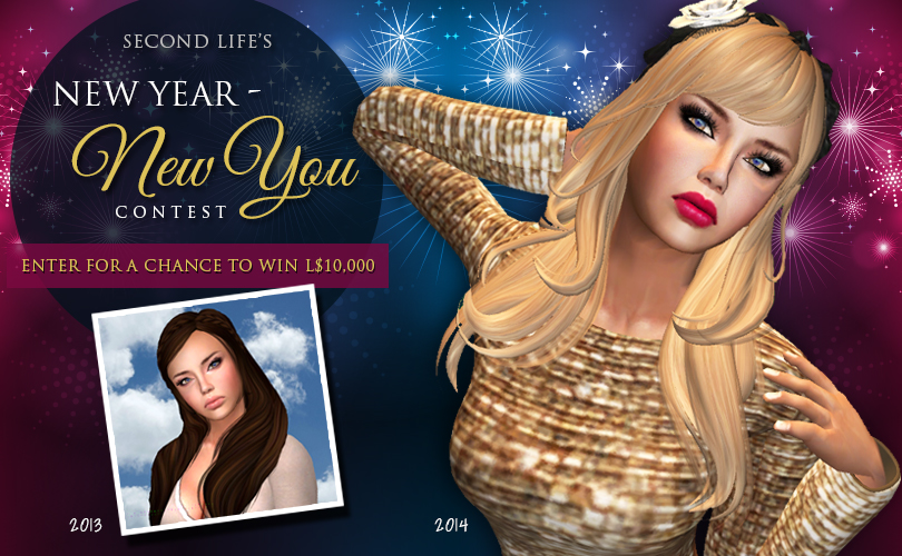 Second Life New Year - New You Contest