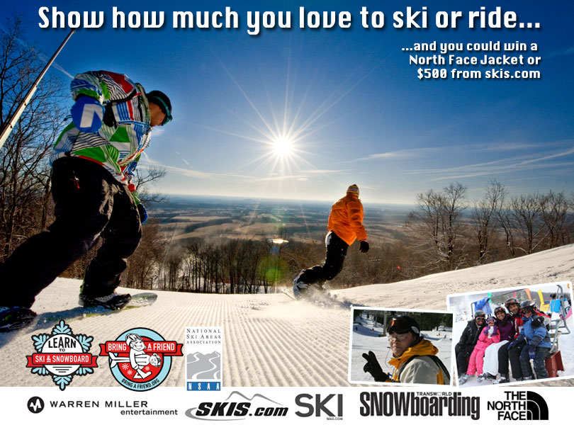 Why I Love to Ski or Ride Video Contest
