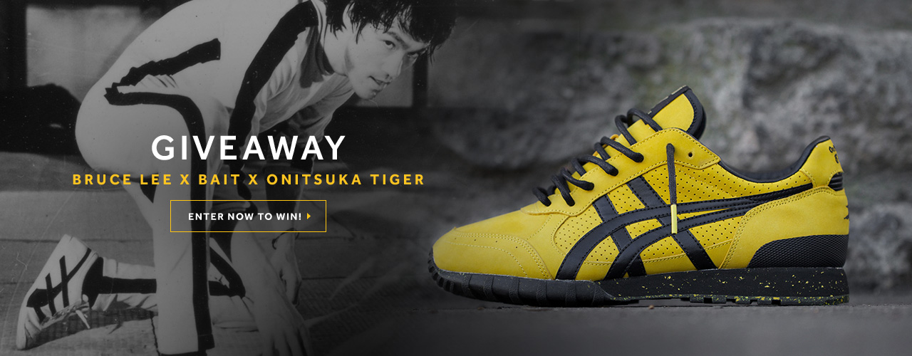 reputable site 47516 06f3d onitsuka tiger bruce lee limited edition