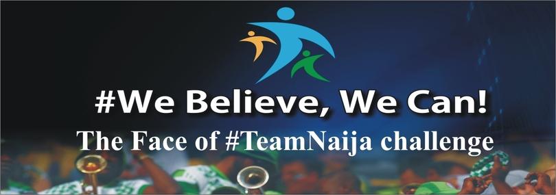 The Face of Team Naija challenge