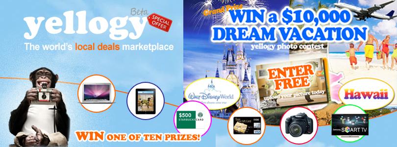 Yellogy HomePage Photo Contest