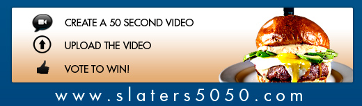 Slater's 50/50 Video Contest
