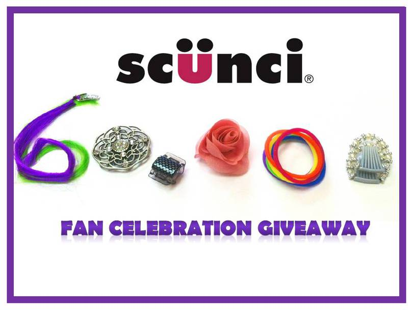 scünci 60,000 Fan Celebration Giveaway