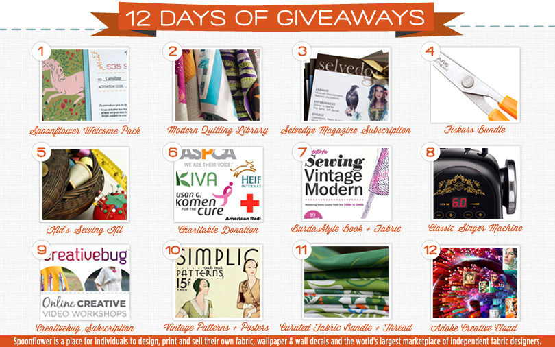 12 Days Of Giveaways: Day ONE