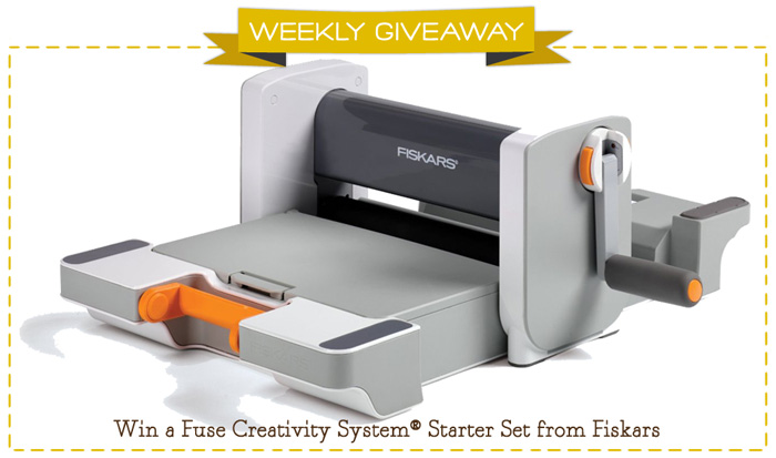 Fiskars Fuse System Giveaway
