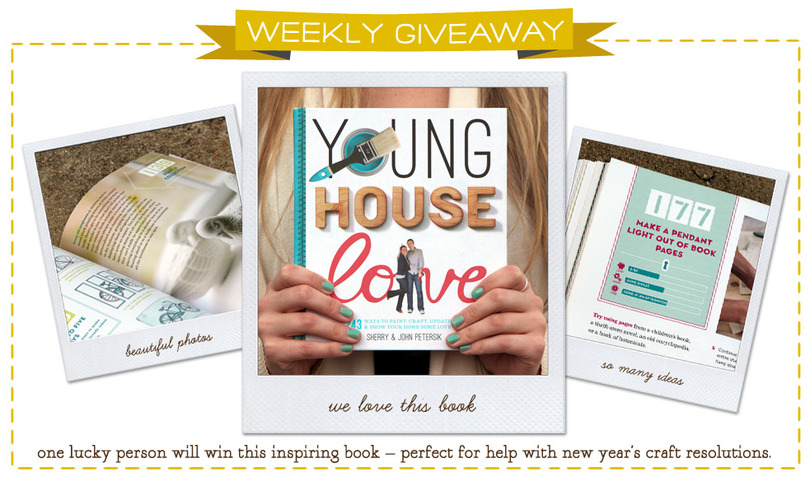 Young House Love Book Giveaway