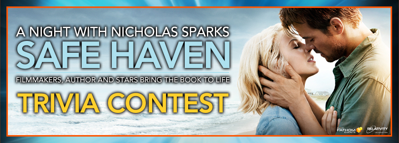 Safe Haven Movie Event Trivia Contest Sweepstakes