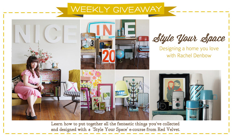 Style Your Space E-Course Giveaway