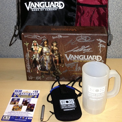 Vanguard Anniversary Schwag Bag Giveaway