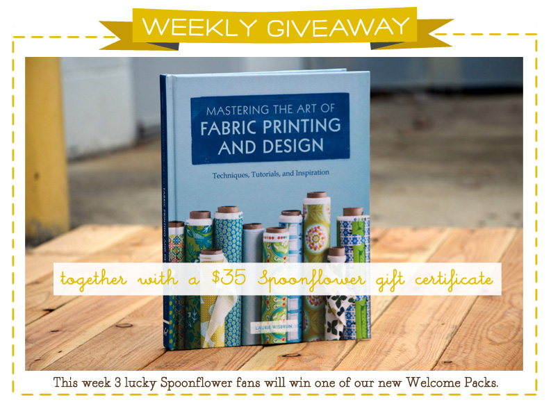 Spoonflower Welcome Pack Giveaway