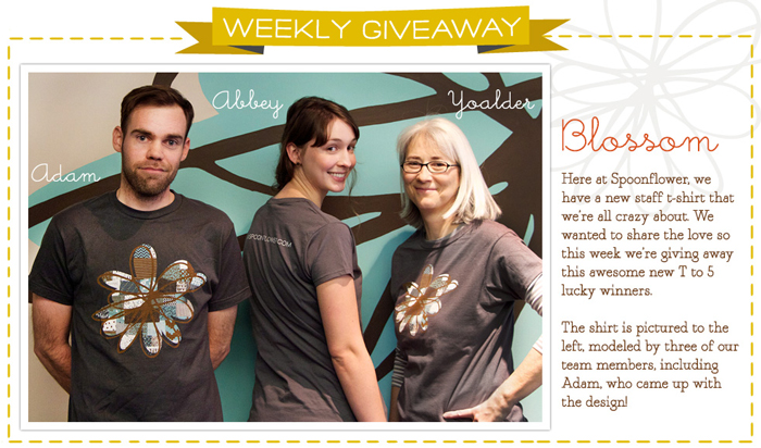 Spoonflower T-Shirt Giveaway