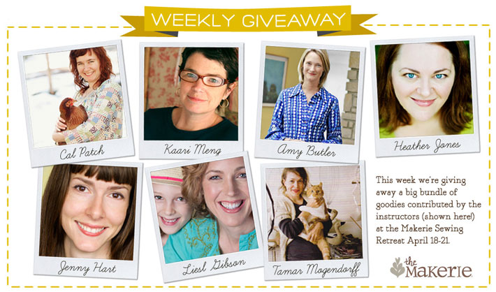 Makerie Sewing Prize Bonanza Giveaway