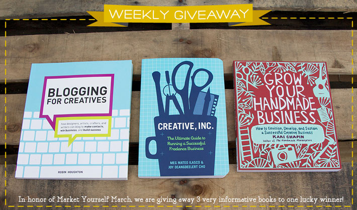 Business Books For Creatives Giveaway