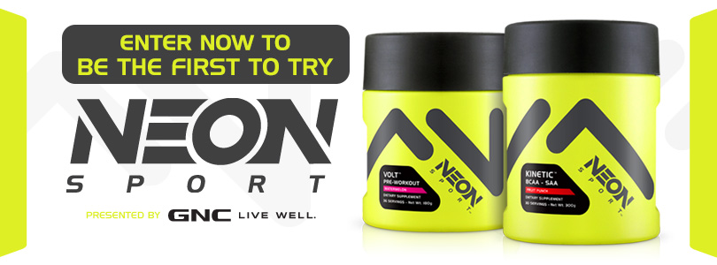GNC's Neon Sport Sample Giveaway!