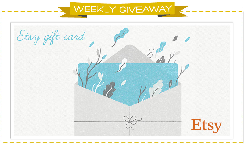 Win an Etsy Gift Card