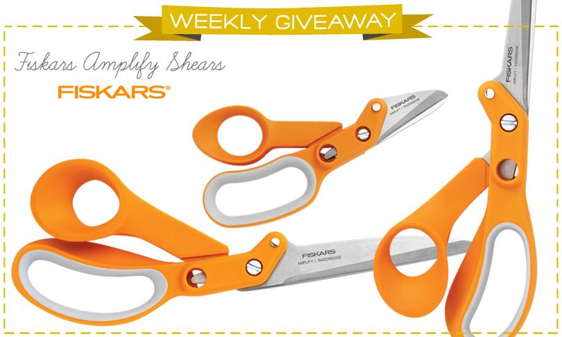 Win Fiskars Amplify™ Shears