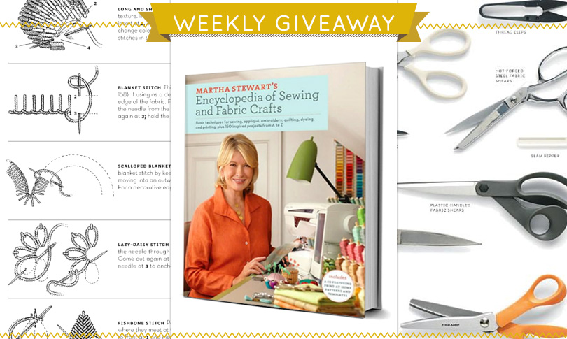 Win a Copy of Martha Stewart's Sewing Encyclopedia