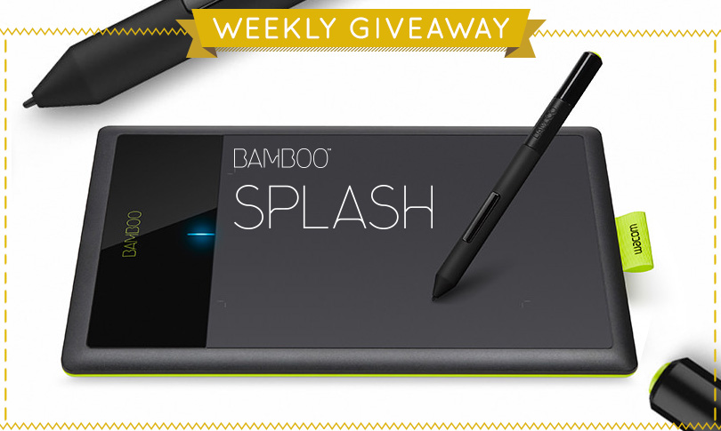 Win a Wacom Bamboo Digital Drawing Tablet