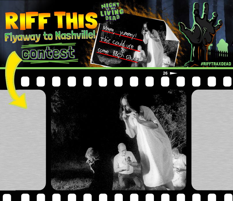 Riff This Contest: Night of the Living Dead