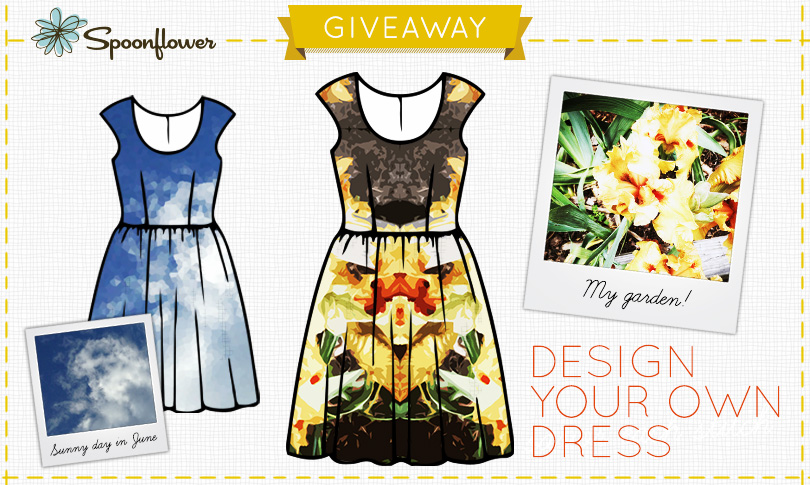 Win a Designer Dress Made with your Fabric Design!