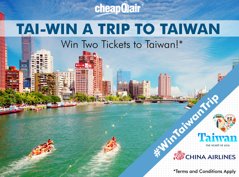 Tai-Win a Trip to Taiwan