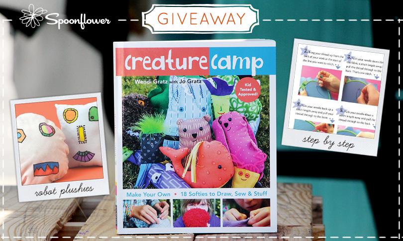 Win a Copy of Creature Camp + a Fat Quarter Bundle