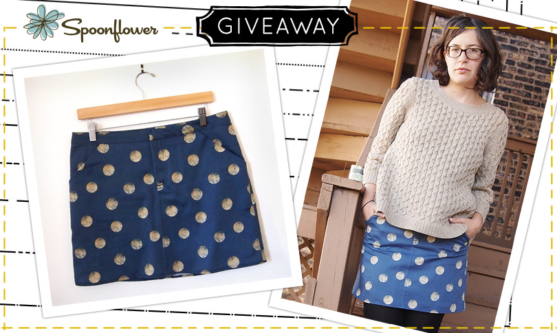 Win a Grainline Studio Pattern + Custom Fabric to Sew it up!