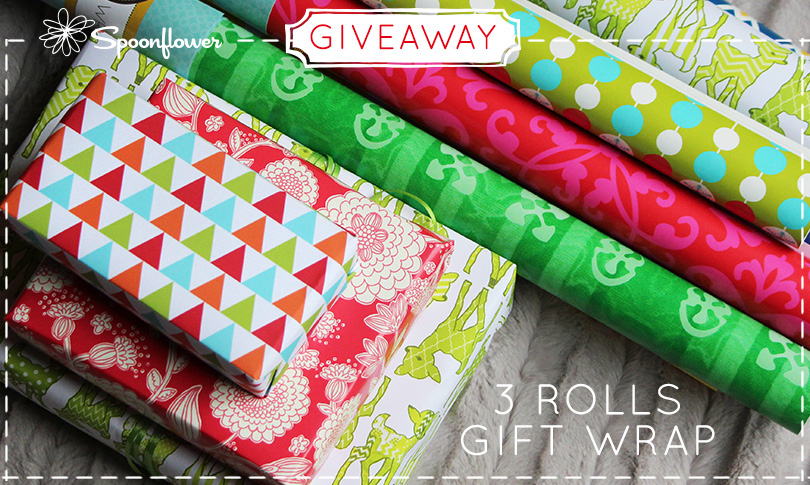 Win Custom Printed Gift Wrap!