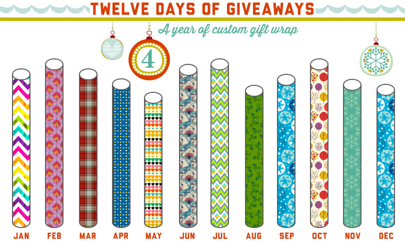12 Days of Giveaways: Day Four!