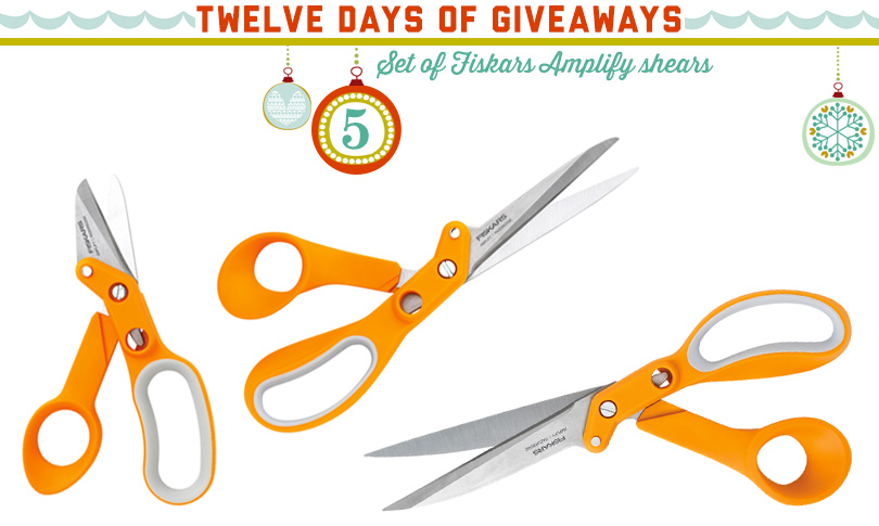 12 Days of Giveaways: Day Five!
