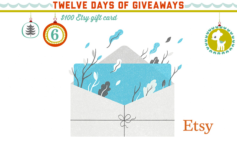 12 Days of Giveaways: Day Six!