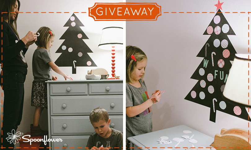 Win a Decal Christmas Tree + Ornaments!