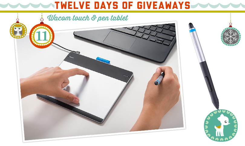 12 Days of Giveaways: Day Eleven!