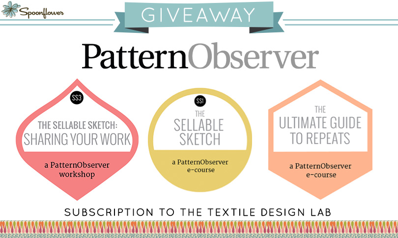 Win a Subscription to The Textile Design Lab!