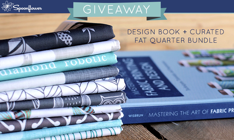 Win a Copy of Laurie Wisbrun's book + a Fat Quarter Bundle!