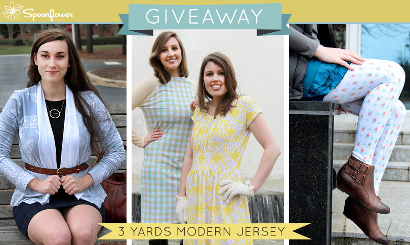 Win 3 Yards of Modern Jersey
