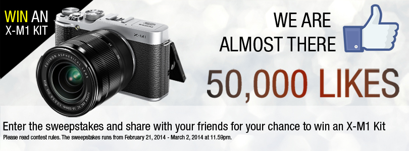 Fujifilm Cameras Big Likes contest