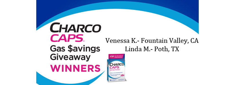 CharcoCaps® Gas $avings Giveaway