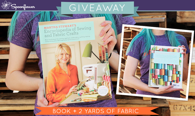 Win a Copy of Martha Stewart's Sewing Encyclopedia + Fabric