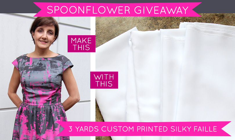 Win Three Yards of Custom-Printed Silky Faille