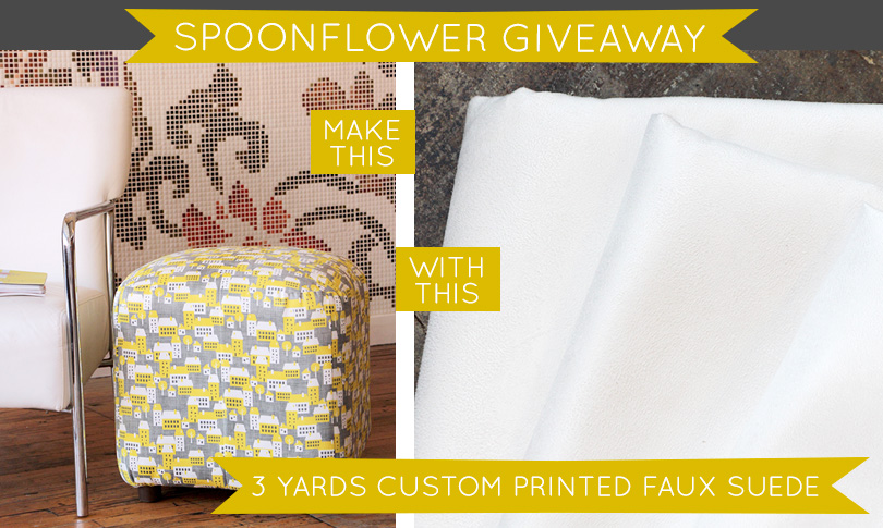 Win Three Yards of Faux Suede!
