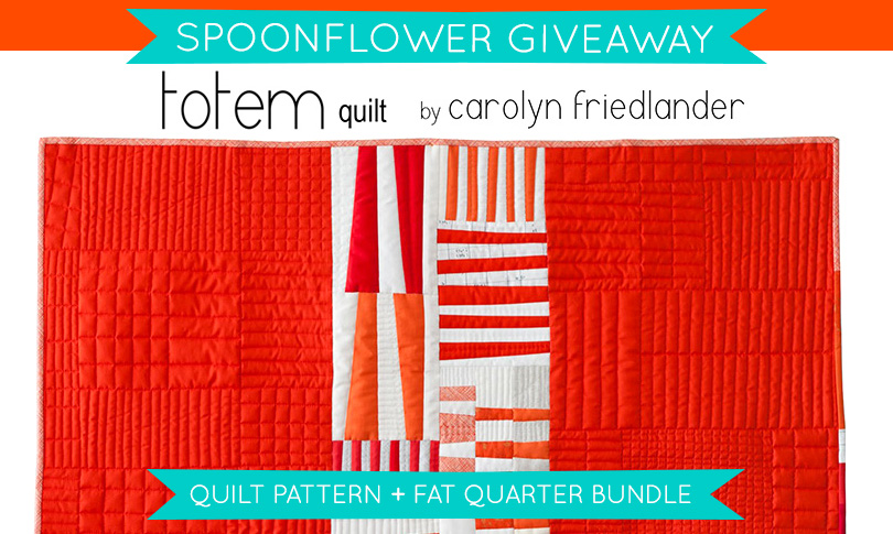 Win a Carolyn Friedlander Quilt Pattern!